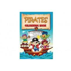 Malebog pirater 16 sider