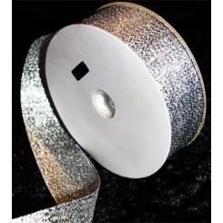 Bånd Sølv 25 mm x 10 m