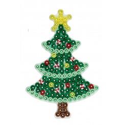 Hama midi stiftplade Juletræ lille