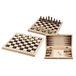 Gamebox, skak, Backgammon mm.