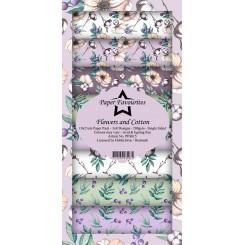 Flowers and cotton slim designer paper