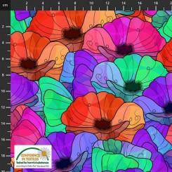 Avalana Jersey Multi blomst 19-882