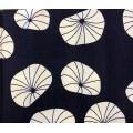 Fat Quarters Patchwork stof blå blad