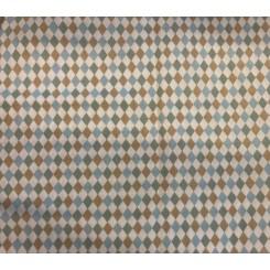 Harlekin mønster pastel blå / lyser