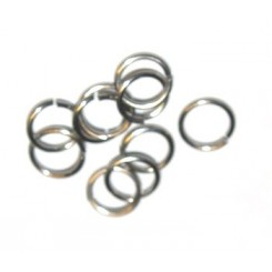O ringe 120 stk x 6 mm rustfrit stål