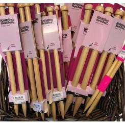 Bambus strikkepinde
