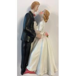 Brudepar kransekage figur