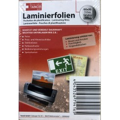 Laminerings folie 100 stk, 60 x 90 mm