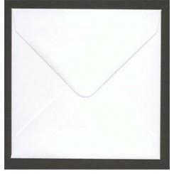 Kuverter hvid 15,5 x 15,5 cm, 10 stk