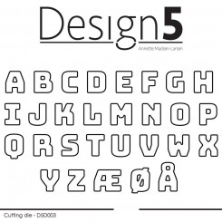 Small letters dies, D5D003