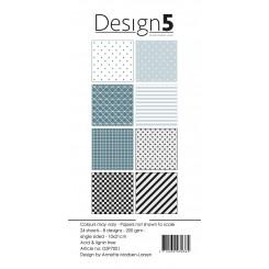 Design 5 slim paper blok D5P7001