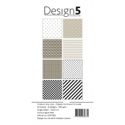 Design 5 slim paper blok D5P7002