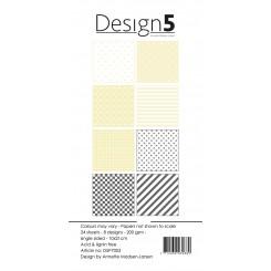 Design 5 slim paper blok D5P7003