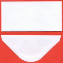 Slimcard mini kuverter 20 stk Hvid