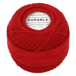 Hæklegarn Rød 20 g. Durable