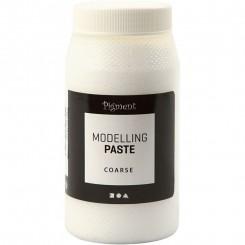 Modelerings pasta hvid Grov 500 ml