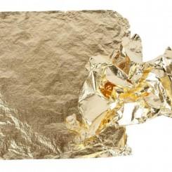 Bladmetal Guld 25 ark 16 x 16 cm