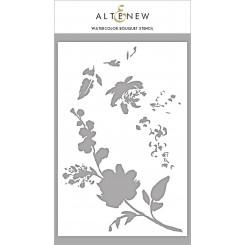 Altenew Layering stencil Bouquet