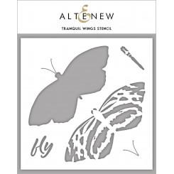 Altenew Layering stencil Butterfly