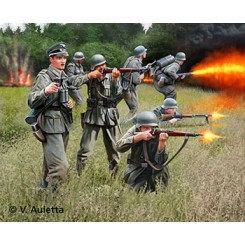 German Infantry WWII, 1/32