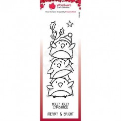 Robin Stack stempel, Woodware