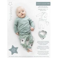 Minikrea Babysæt + Hagesmæk 11430