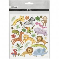 Sticker Safari animals