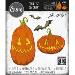 Pumpkin patch colorize dies Tim Hol