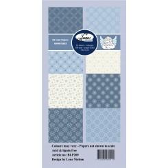 Snowflakes slim designer papir