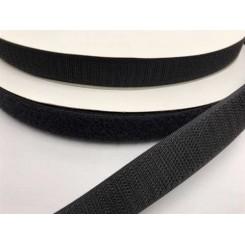 Velcrobånd Sort 3 cm x 1 meter
