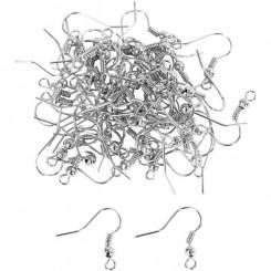 Fransk ørekrog 18 mm x 8 stk
