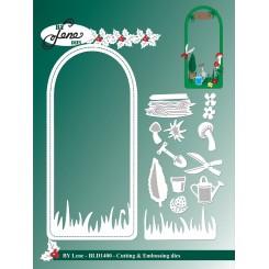 Garden Elves landscap dies, By Lene