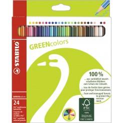 Stabilo Greencolors 24 farver