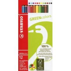 Stabilo Greencolors 12 farver