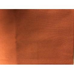 Øko bomuld Brændt orange 47 x 50 cm