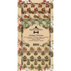 Antique Christmas Slim card design