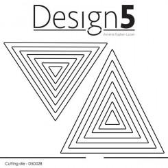 Trekant die sæt, Design 5