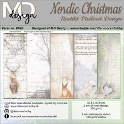 Nordic Christmas design 8640