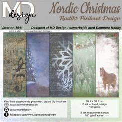 Nordic Christmas design 8641