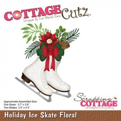 Holiday Ice Skate Floral CC-906
