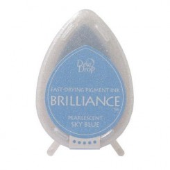Brilliance ink Pearlescent Sky Blue