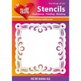 Stensil HCC8446-02, Hearty Craft