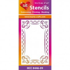 Stensil HCC8446-09, Hearty Craft