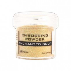 Embossing Gold Enchanted Ranger