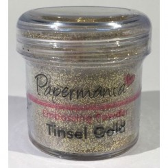 Tinsel Gold Embossing pulver