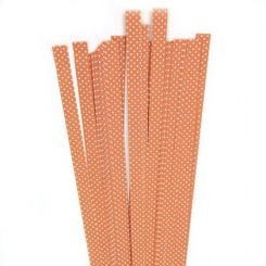 Strimler Orange dots 15 x 450m