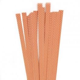 Strimler Orange dots 15 x 450m