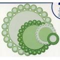 Beaded Circles , S4-292