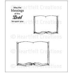 Book frame set stempel