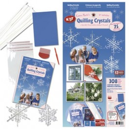 Quilling Crystal kit White